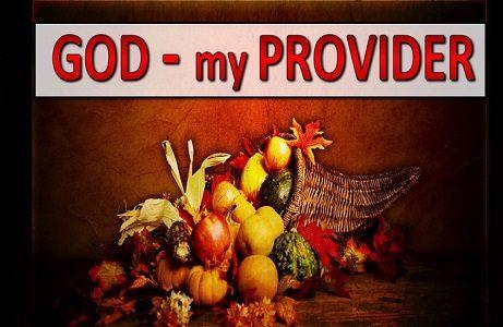 GOD OUR PROVIDER