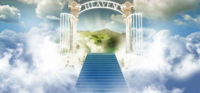 AN OPEN HEAVEN